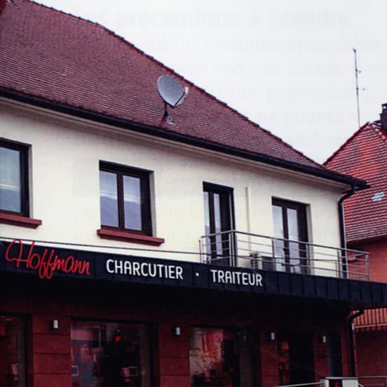 La maison Hoffmann, au pas de course